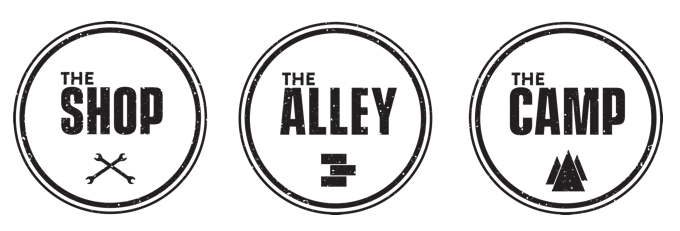 AIMExpo - the Shop - the Alley - the Camp