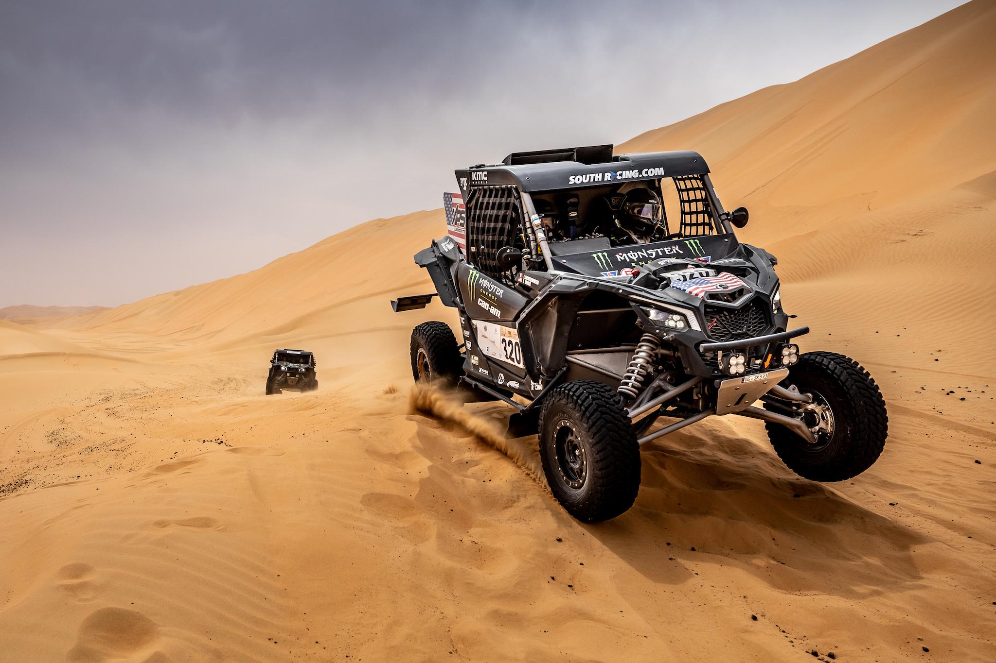 Abu Dhabi Desert Challenge Rally - Can-Am
