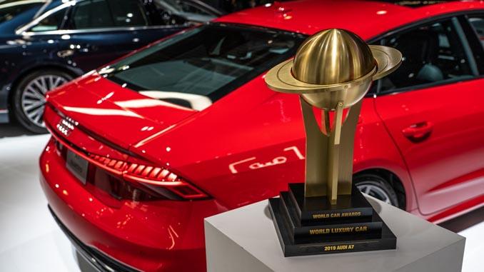 "Audi A7 is ""2019 World Luxury Car"""