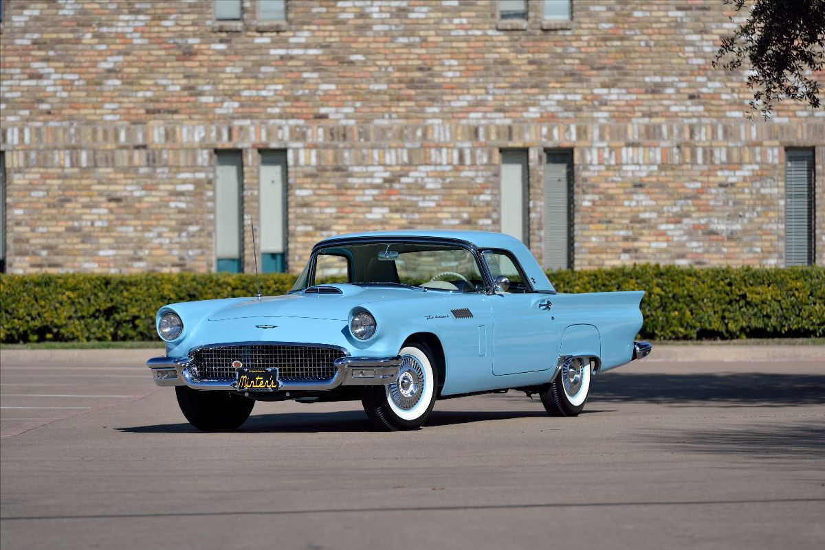 Dana Mecum's 32nd Original Spring Classic - 1957 Ford Thunderbird F-Code From the Amos Minter F-Bird Collection