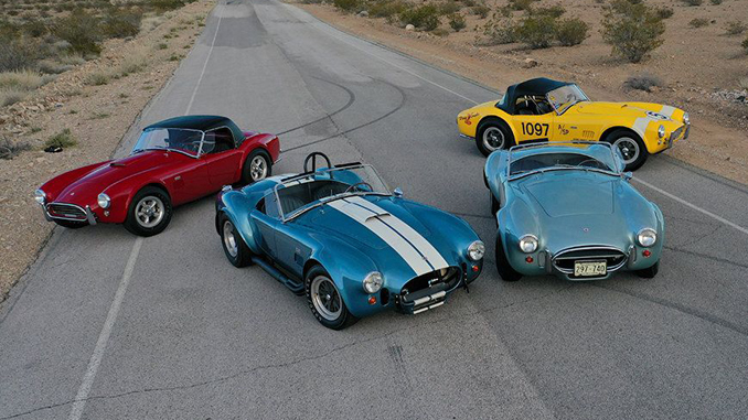 Dana Mecum's 32nd Original Spring Classic - Main Attraction Consignments Include Four Shelby Cobras From the Steven Juliano Estate Collection [678]