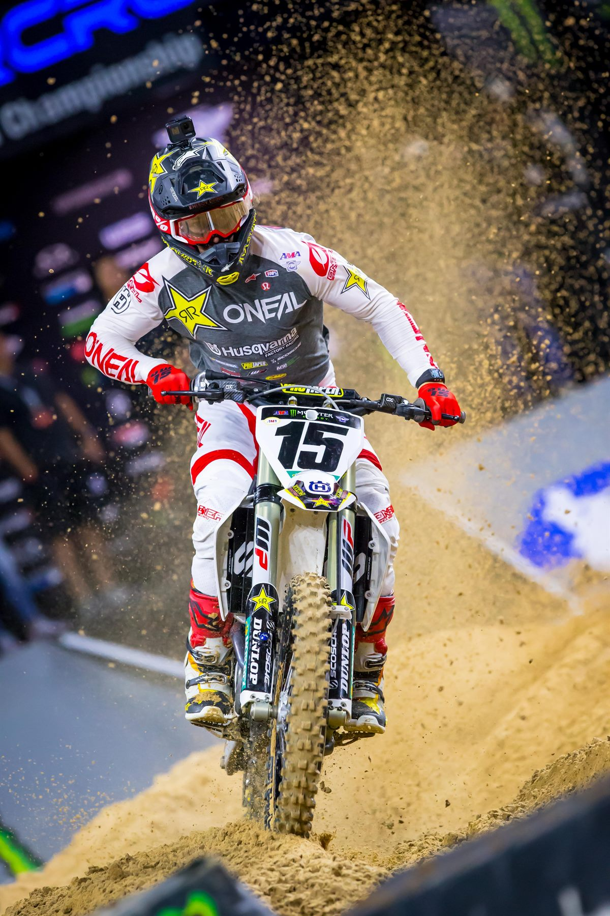 Dean Wilson Earns First Podium of the Season at Houston SX Triple Crown