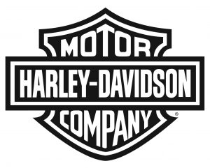 Harley-Davidson bar and shield logo black