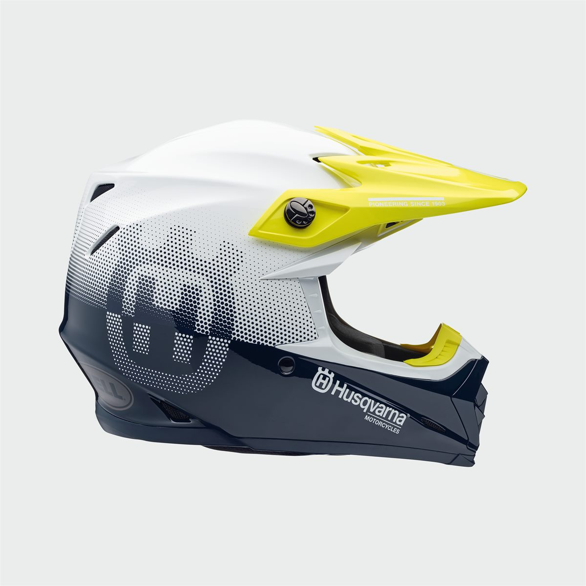Husqvarna Motorcycles 2020 Functional Clothing Offroad Collection - MOTO 9 MIPS GOTLAND HELMET