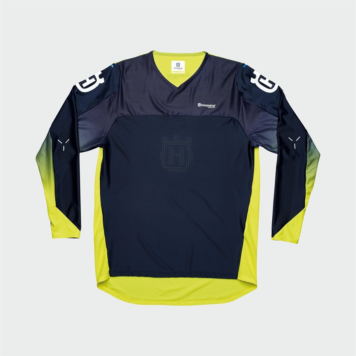 Husqvarna Motorcycles 2020 Functional Clothing Offroad Collection - RAILED SHIRT YELLOW