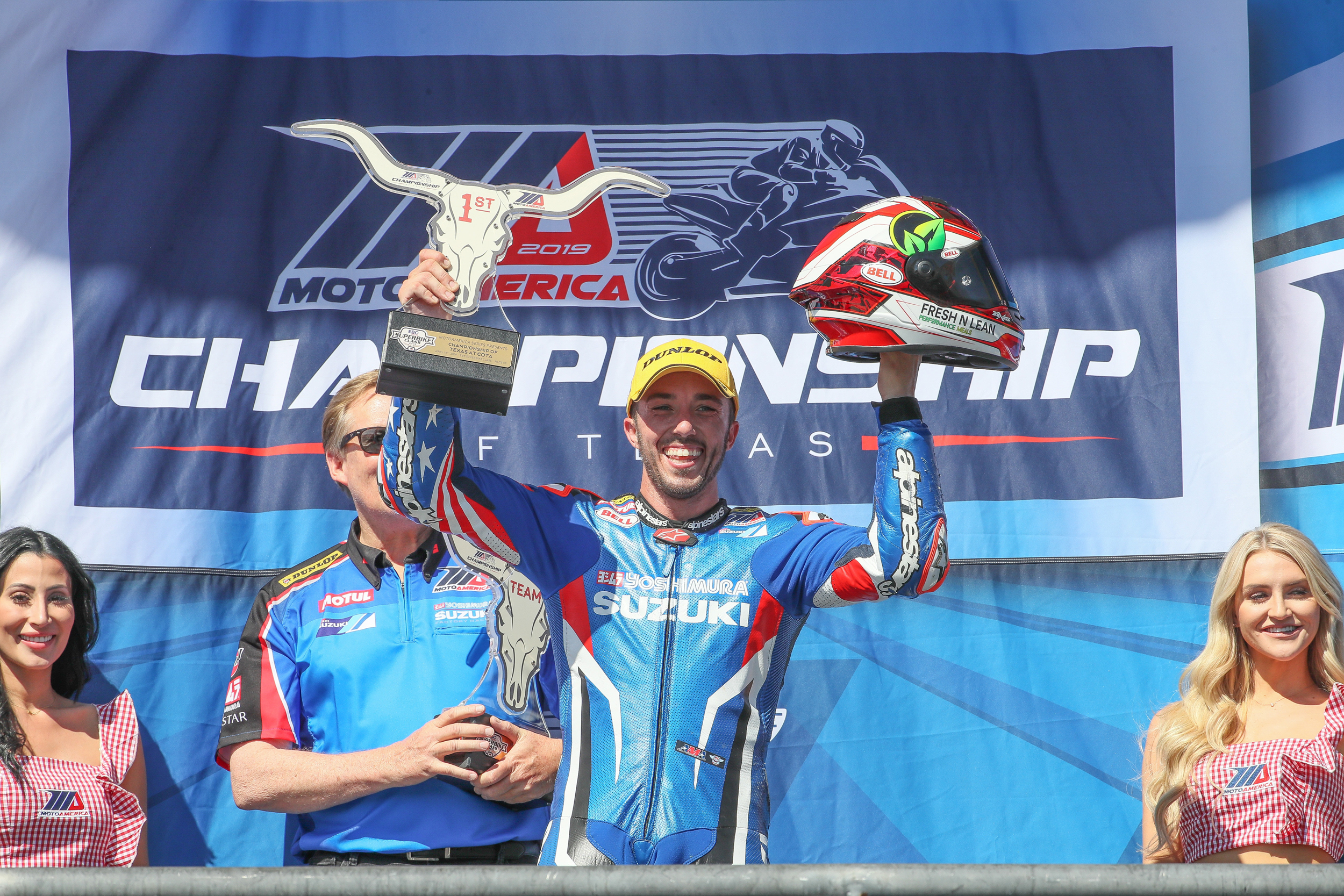 Josh Herrin grabs his first win of the 2019 MotoAmerica season with Suzuki [6]
