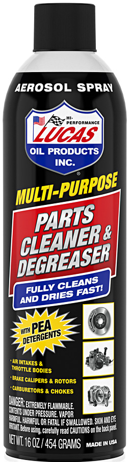 Lucus Oil Products - multi purpose parts cleaner degreaser bottle