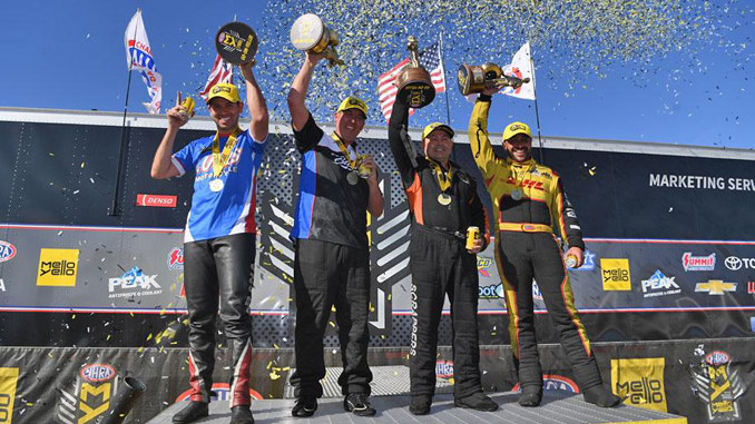 NHRA Four-Wide Nationals - winners