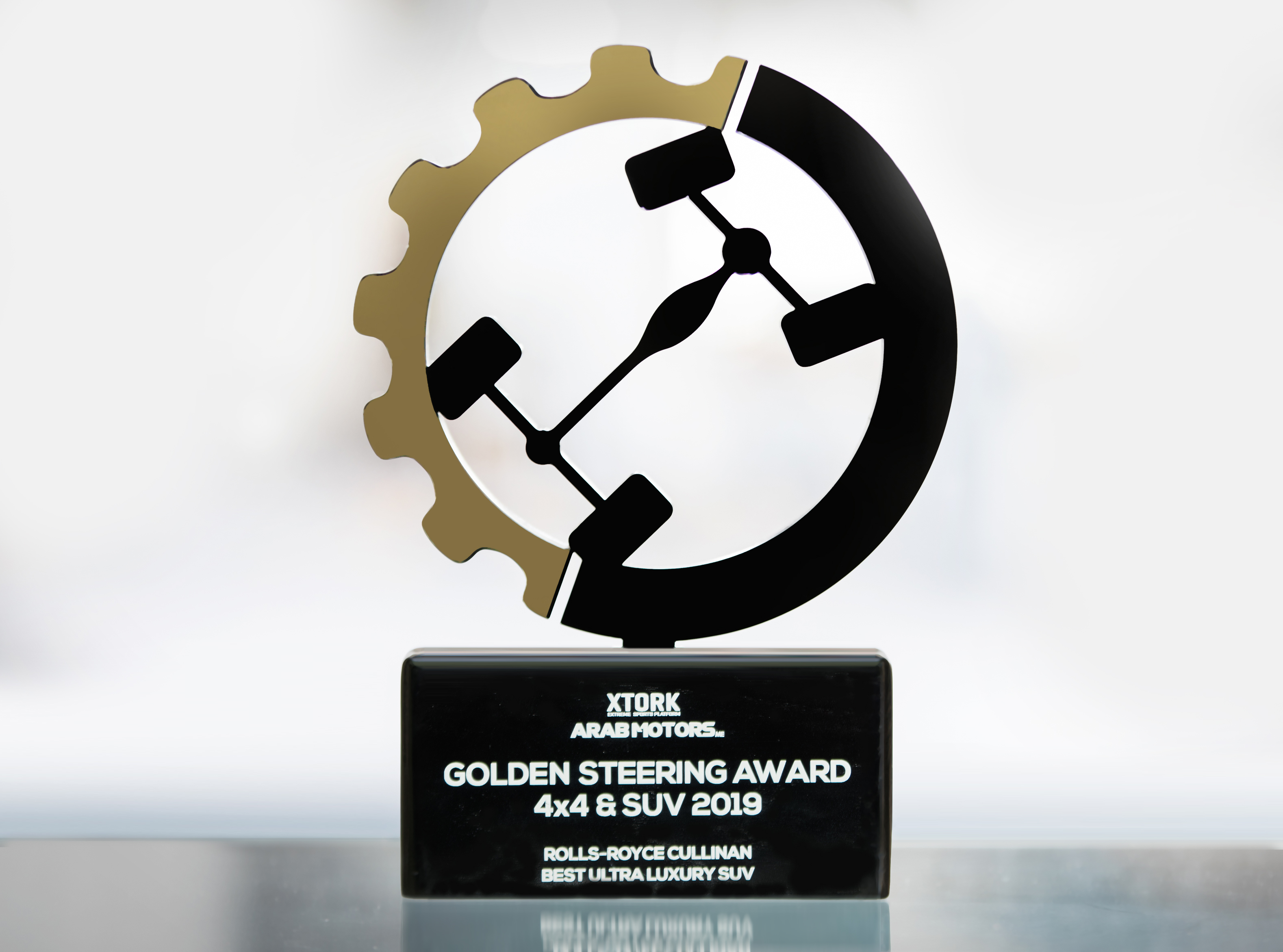 ROLLS-ROYCE CULLINAN WINS 'BEST ULTRA LUXURY SUV' OF THE YEAR AT THE GOLDEN STEERING AWARDS