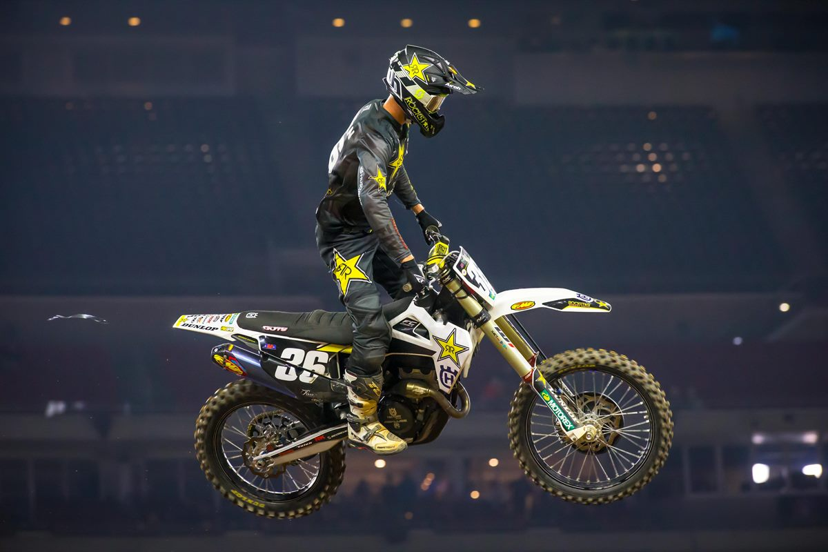 Rockstar Energy Husqvarna Factory Racing - Mosiman - Houston SX