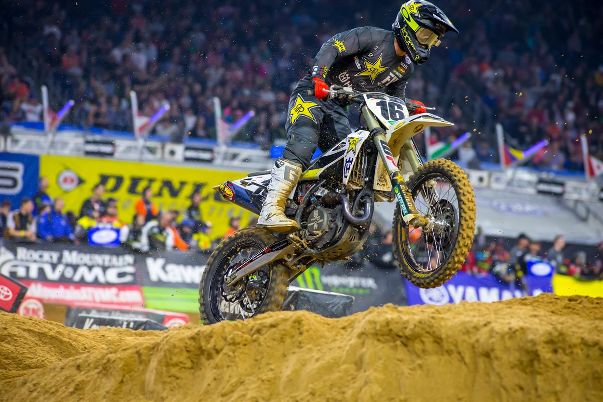 Rockstar Energy Husqvarna Factory Racing - Osborne - Houston SX