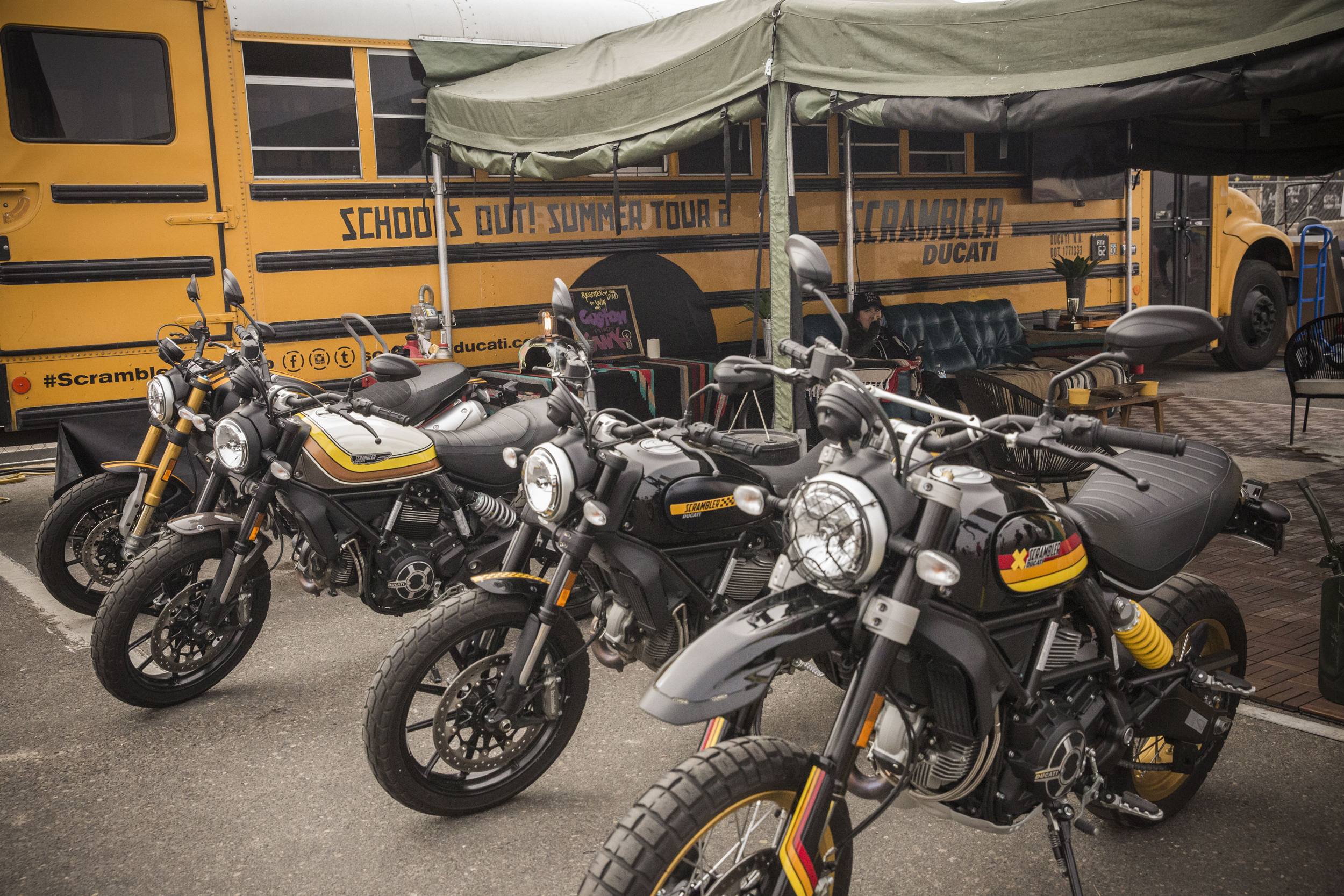 Scrambler Summer Road Trip