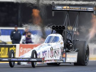 Top Fuel - Austin Prock - NGK Spark Plugs NHRA Four-Wide Nationals - action