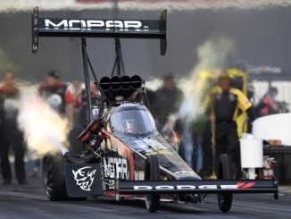 Top Fuel - Leah Pritchett - Mopar Express Lane NHRA SpringNationals - action