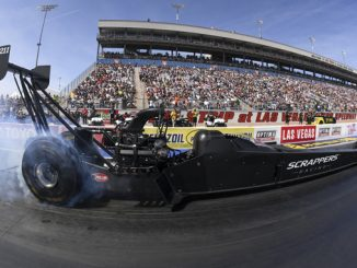 Top Fuel - Mike Salinas - NGK Spark Plugs NHRA Four-Wide Nationals - actio