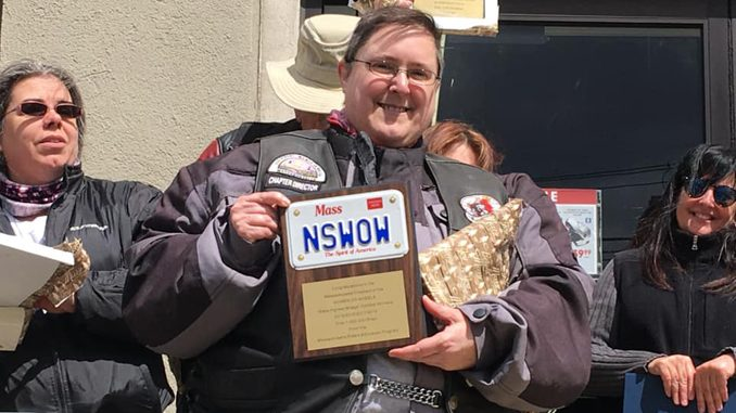 WOW - Jenn with RMV Plaque Cycle Gear 2019