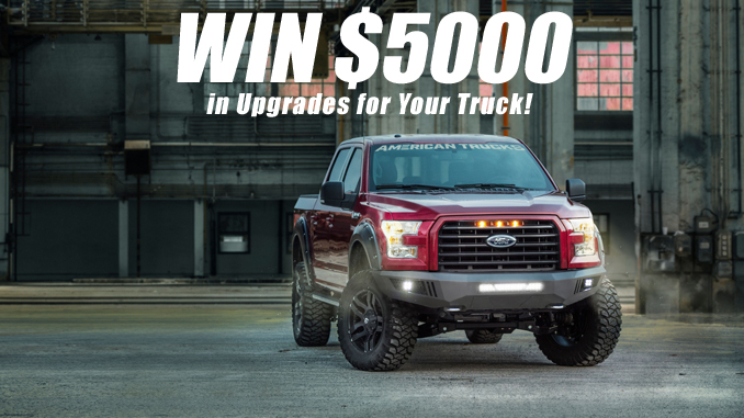Win $5000 in Upgrades for Your Truck!