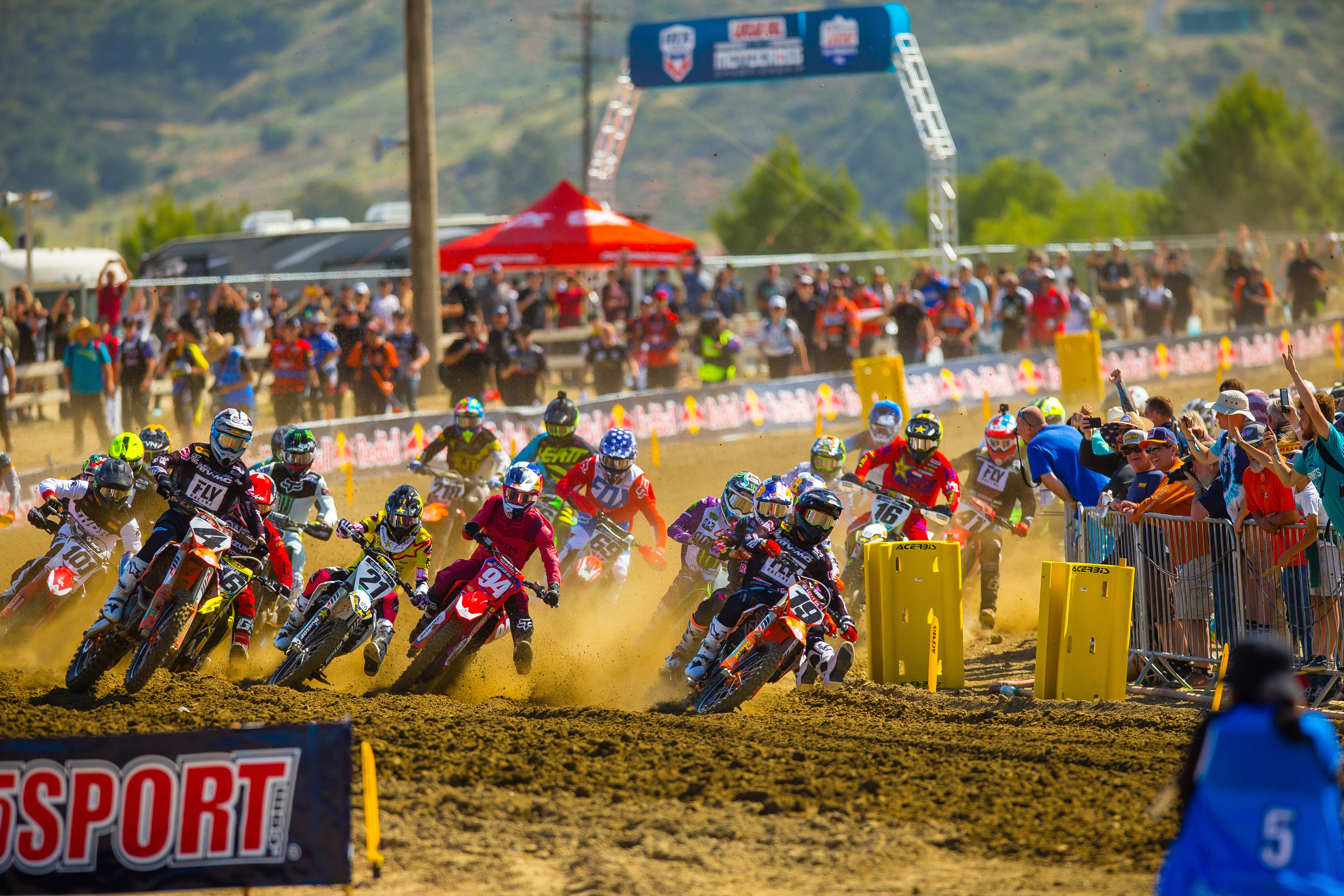 The Lucas Oil Pro Motocross Championship made its return to Pala's Fox Raceway. Photo- Jeff Kardas