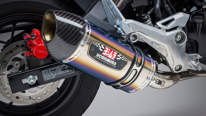 Yoshimura Introduces Honda Grom R-77 Race Series Systems -