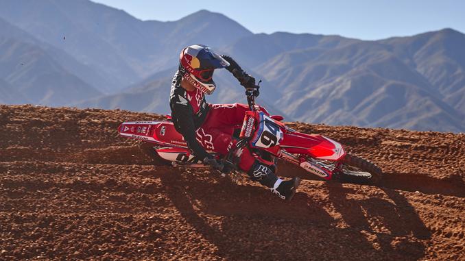 Ken Roczen Re-Signs with Team Honda HRC