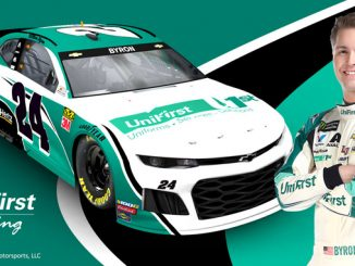 UniFirst NASCAR Driver William Byron Debuts the No. 24 UniFirst Chevy on Saturday, May 11