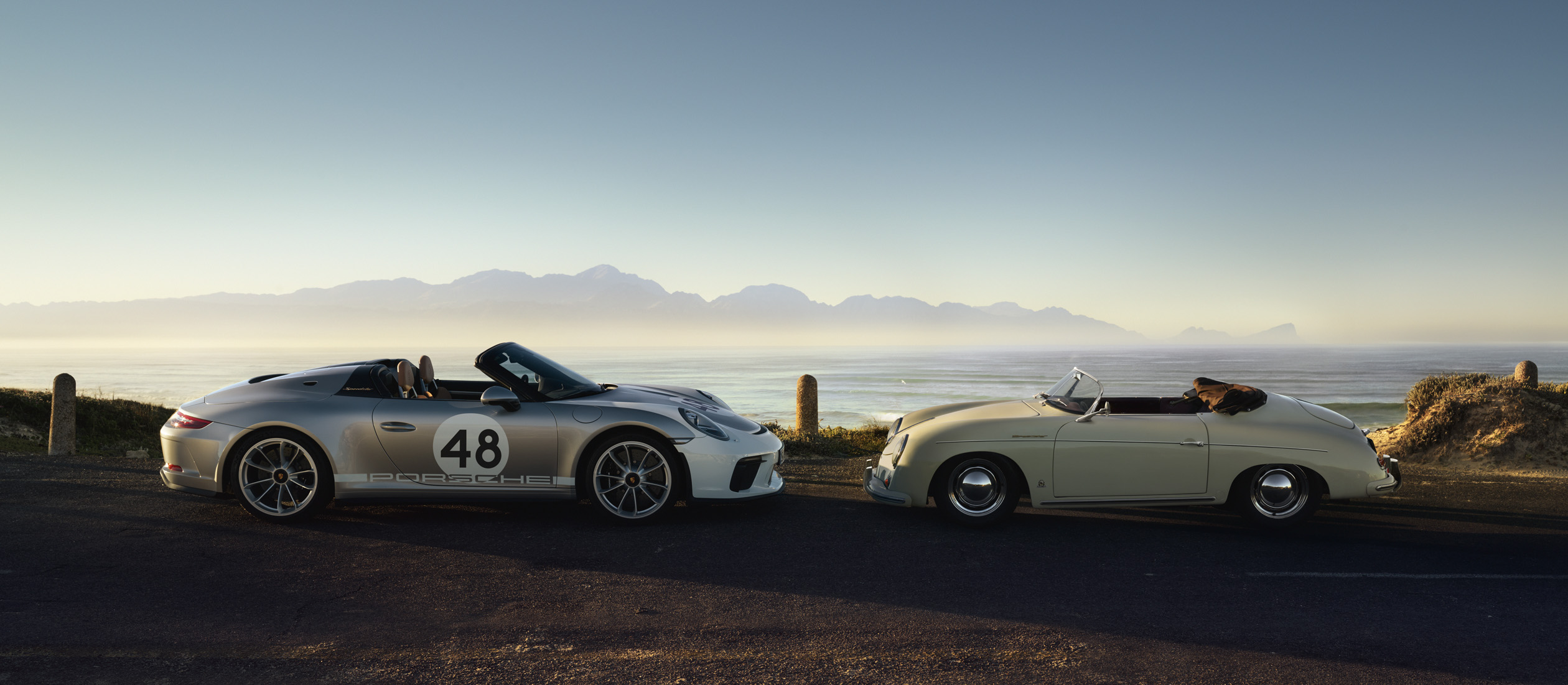 911 Speedster, Heritage Design - Package and 356 1500 Speedster
