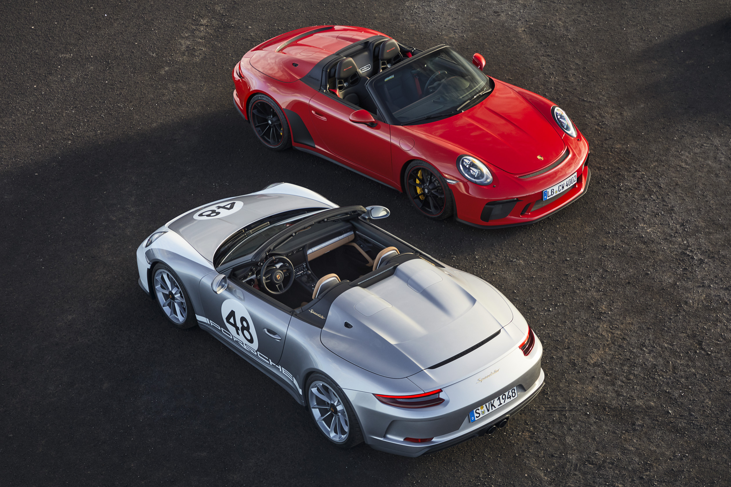 911 Speedster and 911 Speedster, Heritage Design- Package