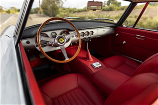 1962 Ferrari 250 GT SWB Berlinetta Offered Without Reserve at RM Sotheby's Monterey Sale -Photo Credit Patrick Ernzen © 2019 Courtesy of RM Sotheby's
