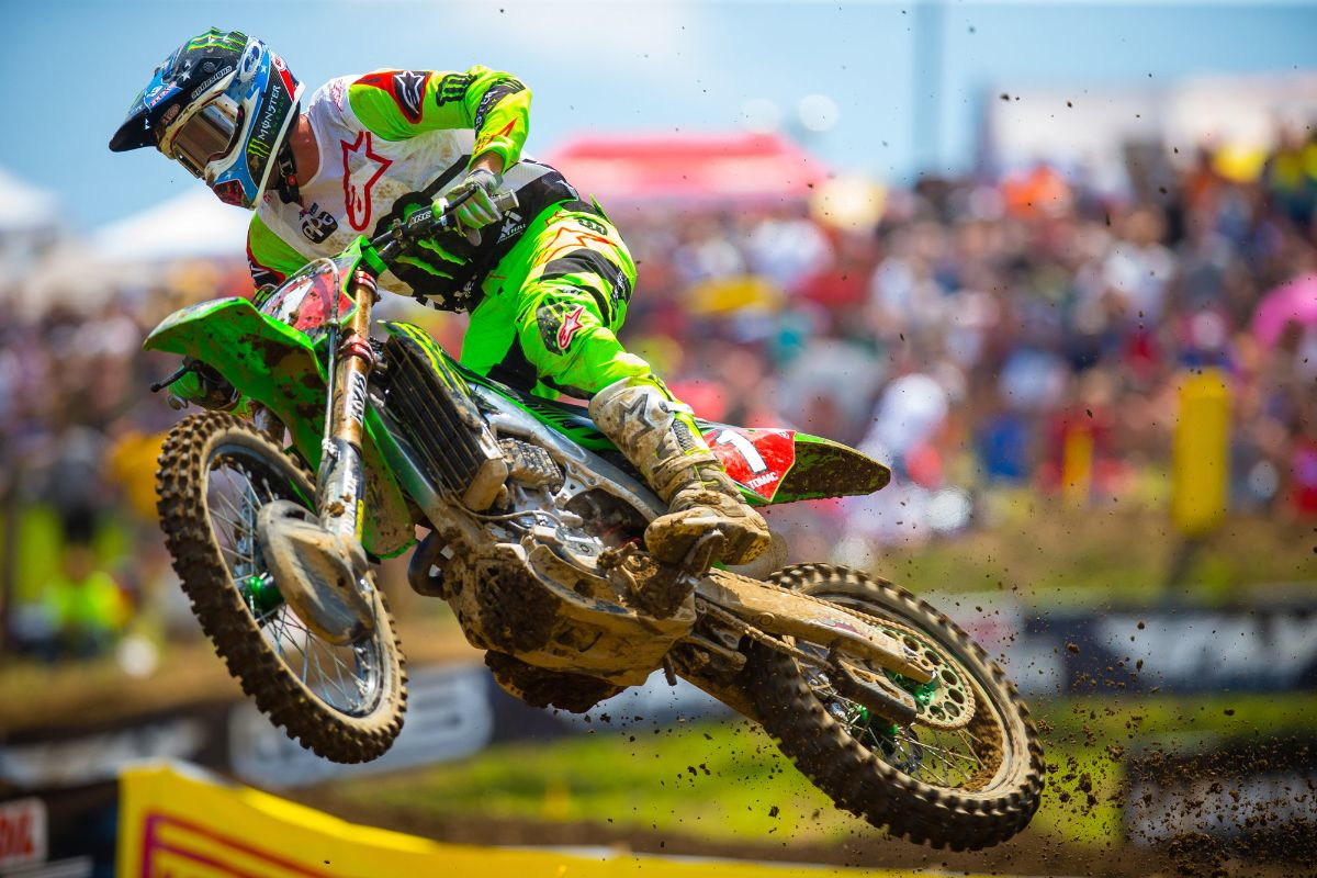 Can back-to-back 450 Class champion Eli Tomac make it three in a row