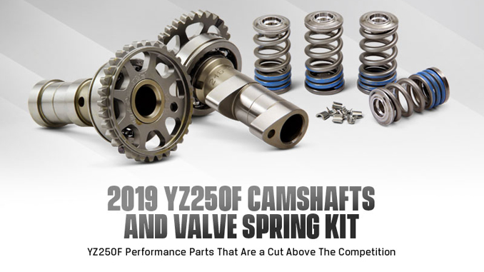 Pro Circuit 2019 YZ250F Camshafts and Valve Spring Kit