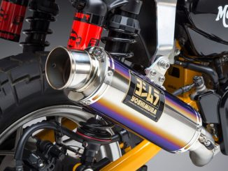 2019 Honda Monkey with Yoshimura GP-Magnum titanium sleeve Race Series system