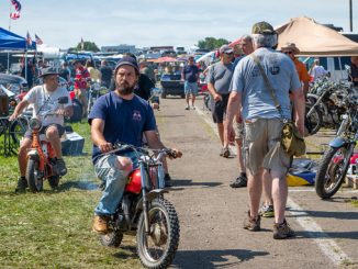 2018 AMA Vintage Motorcycle Days Swap Meet - Federal Motorcycle Transport