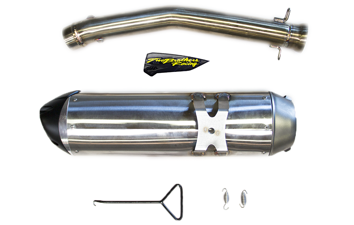 Two Brothers Racing Introduces The 2019 Can-Am Ryker S1R Slip-On Exhaust.