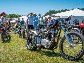 AMA Motorcycle Hall of Fame Bike Show at 2018 AMA Vintage Motorcycle Days (Credit- Larry Hamel-Lambert)
