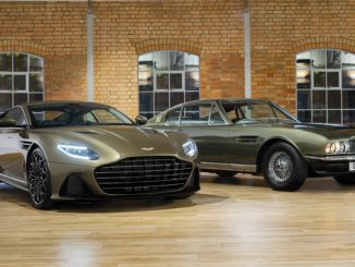 Aston Martin DBS Superleggera is On Her Majesty's Secret Service