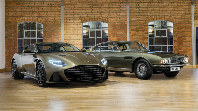 Aston Martin DBS Superleggera is On Her Majesty's Secret Service