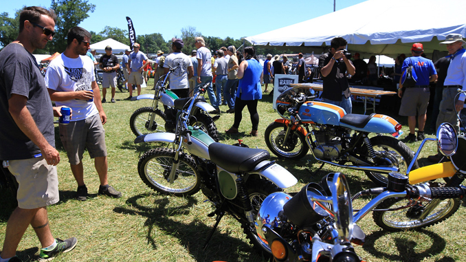 Old Bike Barn Crossroads at 2018 AMA Vintage Motorcycle Days (Credit- Jeff Guciardo_AMA)