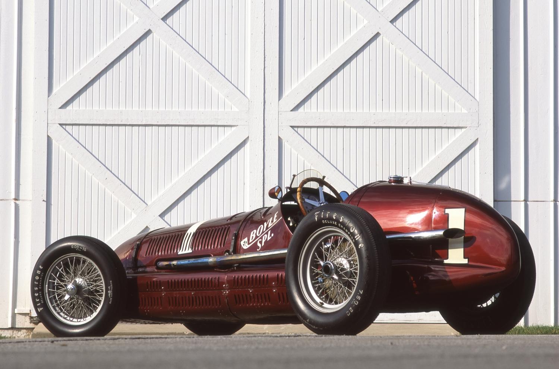 Maserati 8CTF - fantastic win at the Indianapolis 500 in 1939 Description- Photo by John Lamm