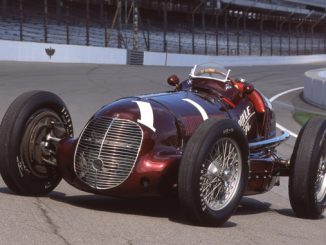 Maserati 8CTF - fantastic win at the Indianapolis 500 in 1939 Description- Photo by John Lamm