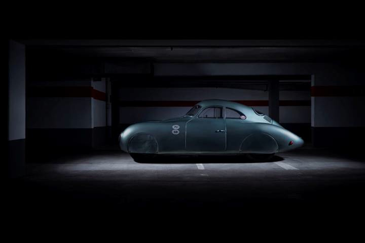 1939 Porsche Type 64 Berlin-Rome No. 3 - Modern photography credited to Staud Studios © 2019 Courtesy of RM Sotheby's