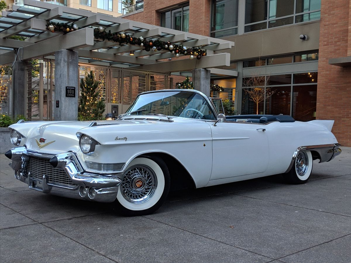 1957 Cadillac Eldorado Biarritz Convertible 365:300 HP, 1 of 1,800 Produced (Lot S98) - Mecum Auction Portland