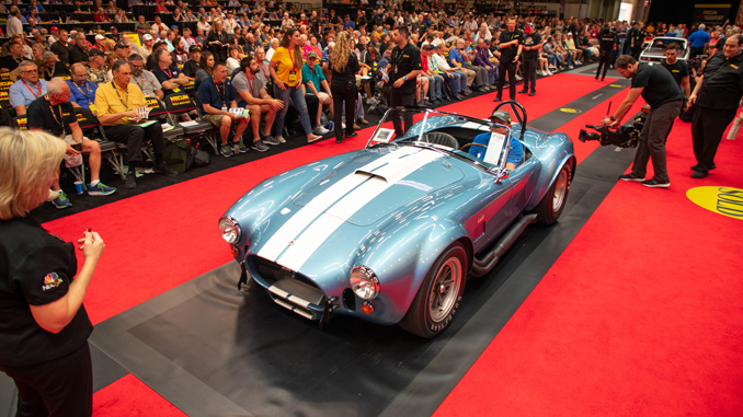 1967 Shelby 427 S-C Cobra Roadster (Lot F128) Sells at $2,860,000