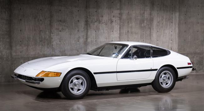 1972 Ferrari 365 GTB-4 Daytona ($750,000 – $850,000) - Gooding & Company Pebble Beach Auctions
