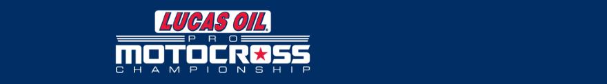 2019 Lucas Oil Pro Motocross Championship banner
