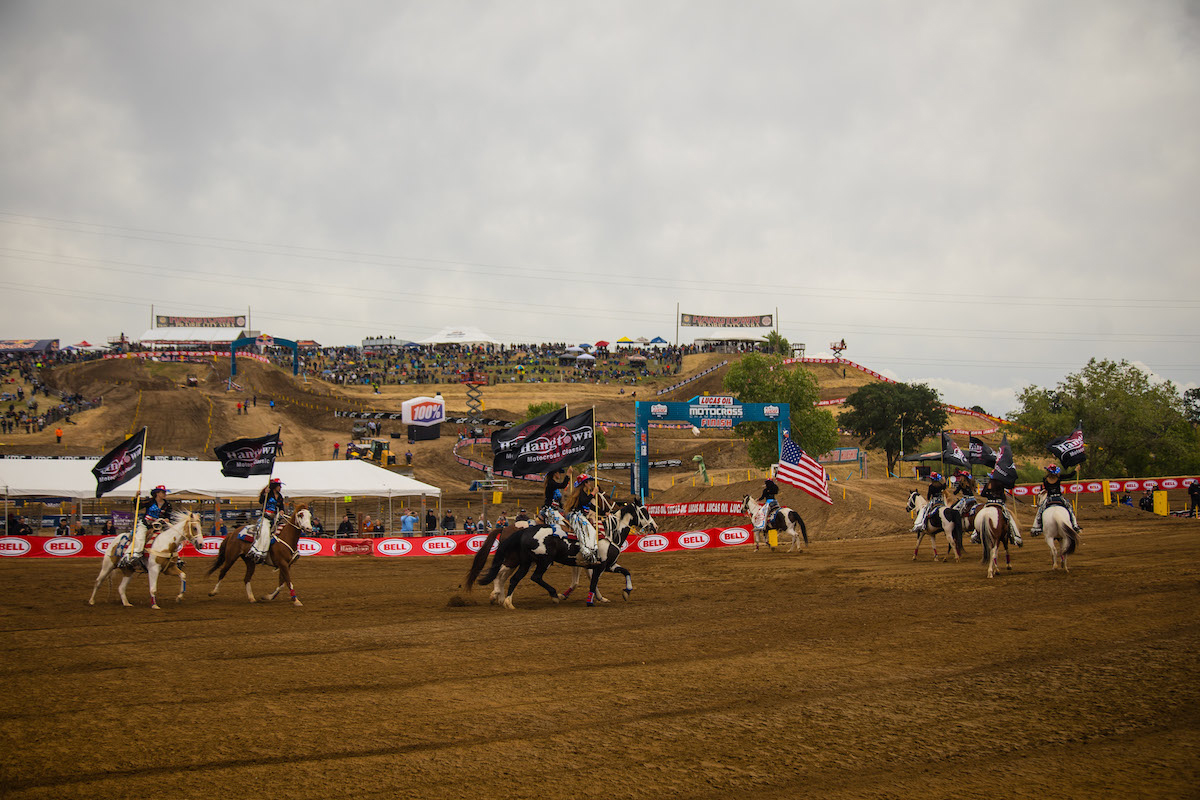 Lucas Oil Pro Motocross Championship kicked off with the Bell Helmets Hangtown Motocross Classic