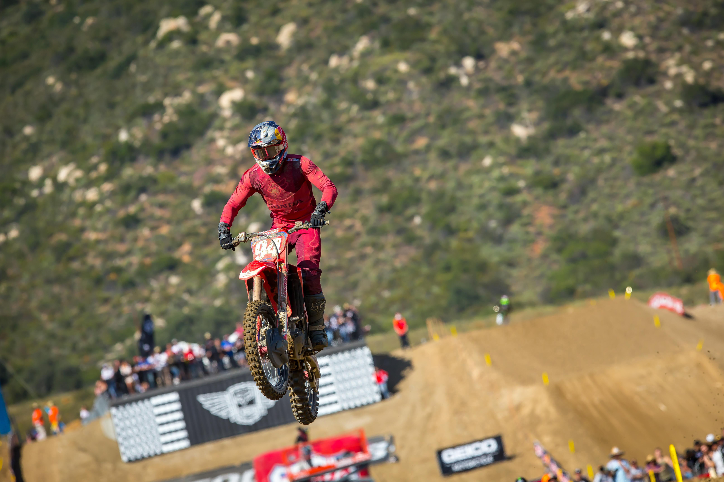 Lucas Oil Fox Raceway National - Roczen rounded out the overall podium in third. Photo- Rich Shepherd