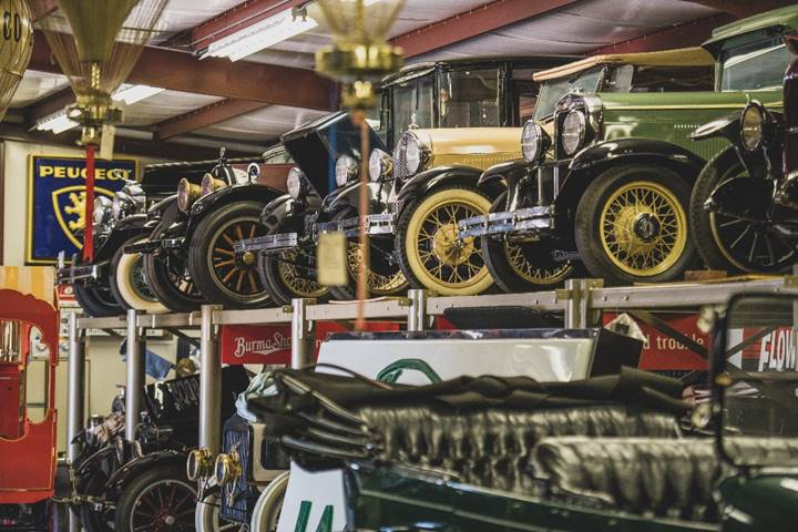 A look inside the Merrick Auto Museum - Merrick Auto Museum Collection (Darin Schnabel © 2019 Courtesy of RM Auctions)