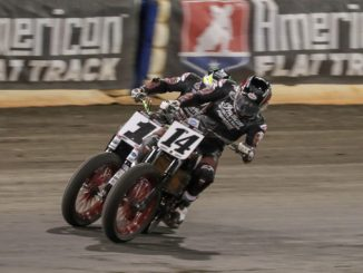 Bauman Leads American Flat Track Field Into So-Cal Half-Mile