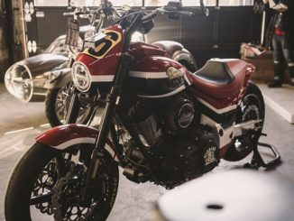Carey Hart Custom Springfield - Indian Motorcycle