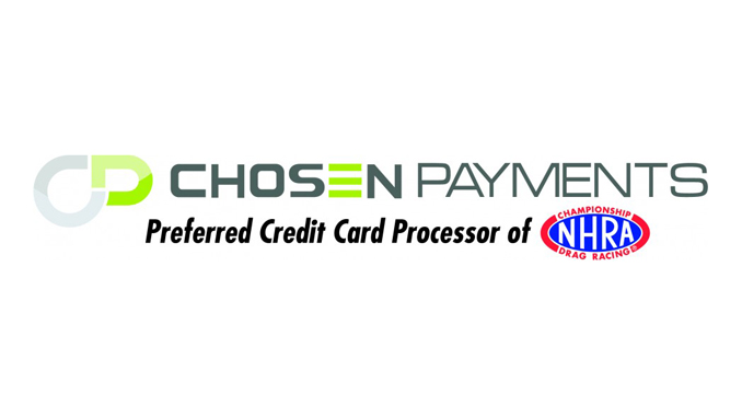 Chosen Payments Preferred Credit Card Processor of NHRA